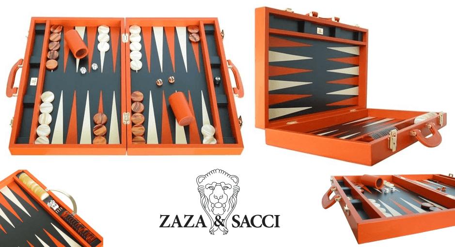 Backgammon Set by Zaza & Sacci