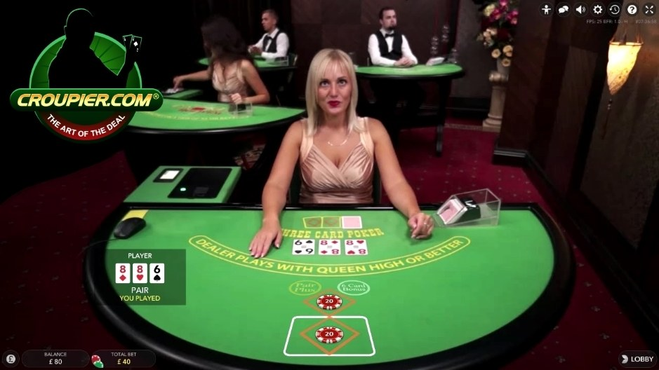 Live Dealer Three Card Poker Win £300 in 30 Minutes Part 1 Mr Green Online Casino
