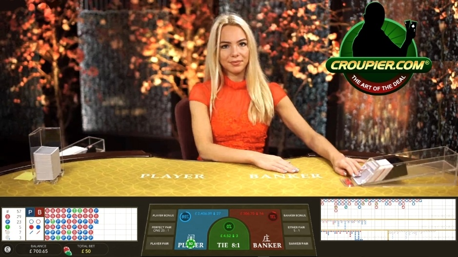 Online Baccarat Live Dealer Real Money Play at Mr Green Online Casino!