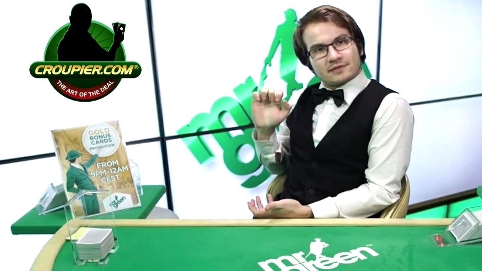Online Blackjack Dealer Thinks He's a James Bond Villain at Mr Green Online Casino
