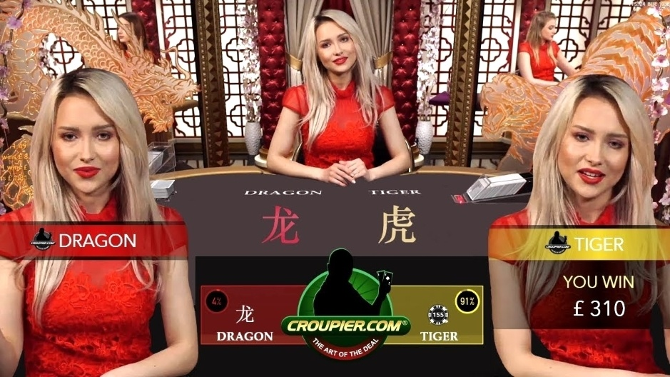 DRAGON TIGER BACCARAT! NEW CASINO GAME vs £2,500! NICE SUITED TIE 50-1 WIN at Mr Green Online Casino!