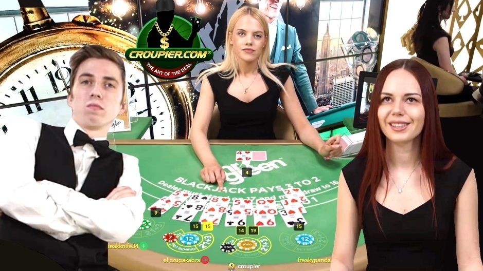ONLINE BLACKJACK vs £2,000! HIGH STAKES £150 MINIMUM BETS at Mr Green Live Casino!