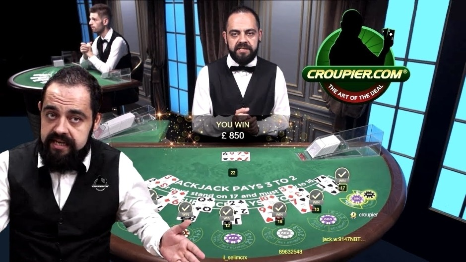 ONLINE BLACKJACK DEALER CEZAR vs £2,000 HIGH STAKES! £150 MINIMUM BETS at Mr Green Live Casino!